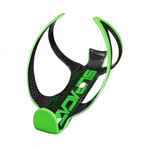 Koszyk na bidon Fly Cage Carbon - Neon Green