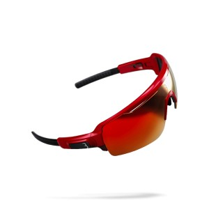Okulary BBB Commander glossy red