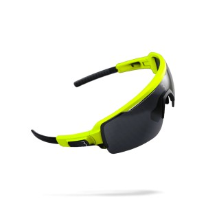Okulary BBB Commander neon yellow
