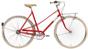 "Rower Creme Caferacer Lady Solo Red 7s 28"" L/55"